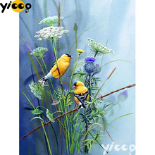 Full Square/Round drill diamond Painting spring birds in grass 5D DIY diamond embroidery mosaic Decoration painting AX0111 full square round drill diamond painting spring birds in grass 5d diy diamond embroidery mosaic decoration painting ax0111