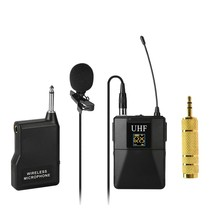 Microphone Professional UHF Wireless Microphone System Receiver+Transmitter for Camcorder Recorder Microphone(China)
