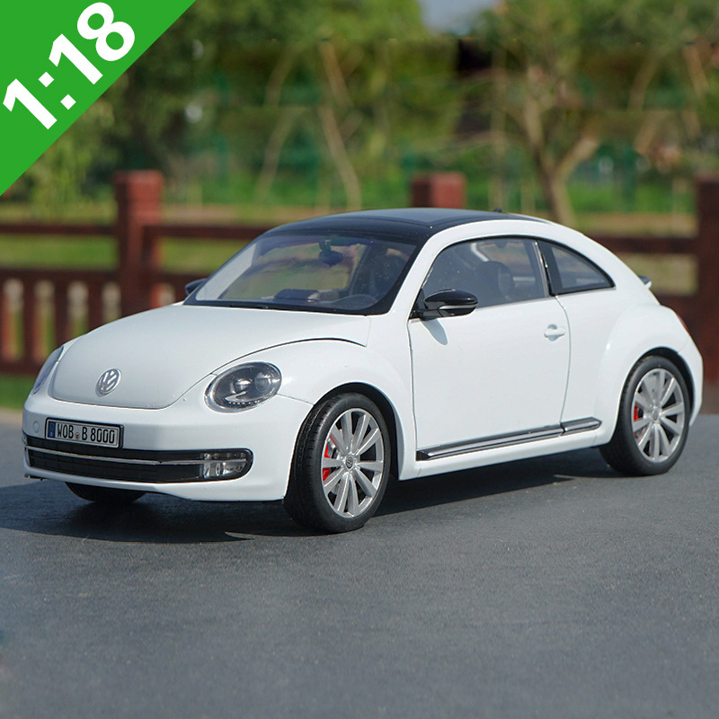 1:18 High Meticulous VW Beetle Alloy Model Car Static Metal Model Vehicles With Original Box For Collectibles Gift