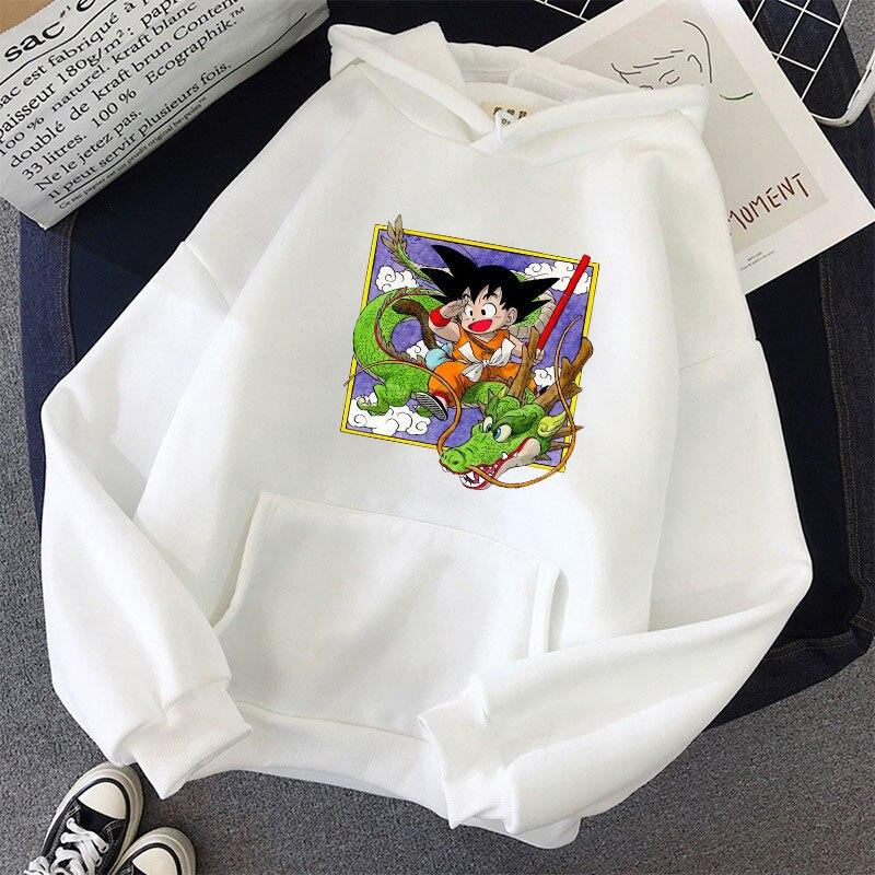 Japanese Anime Printed Hoodies 2021 Spring Autumn Long Sleeve Hoodie Women Cartoon Graphic Streetwear Sweatshirts Female Tops 29