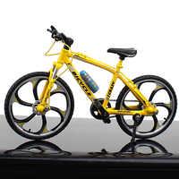 Mini Finger Bmx Skateboards Fahrrad Kinder Spielzeug für Kinder Jungen Roller Tech Metall Fahrrad 1/10