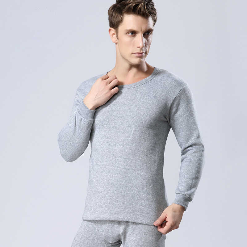 2019 Men Thermal Underwear Set For Male Winter Long Johns Keep Warm Suit Inner Wear Clothing thermo Clothings Men