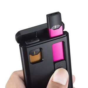 Image 2 - 1200mAh Portable Charging Box Universal Charger Case for JUUL Electronic Cigarette 3 Times for JUUL Accessories