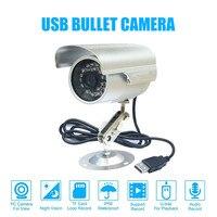 Cctv bala impermeável ao ar livre dvr usb câmera 600tvl ir nightvision segurança micro sd/tf cartão gravador câmera + suporte da câmera|Câmeras de vigilância| |  -