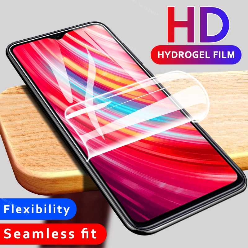 9D <font><b>Hydrogel</b></font> Soft Film For <font><b>Redmi</b></font> Note 9S 8T 7 <font><b>8</b></font> Pro Screen Protector Hydraulic membrane Film For Xiaomi Note 10 CC9 Pro Not glass image