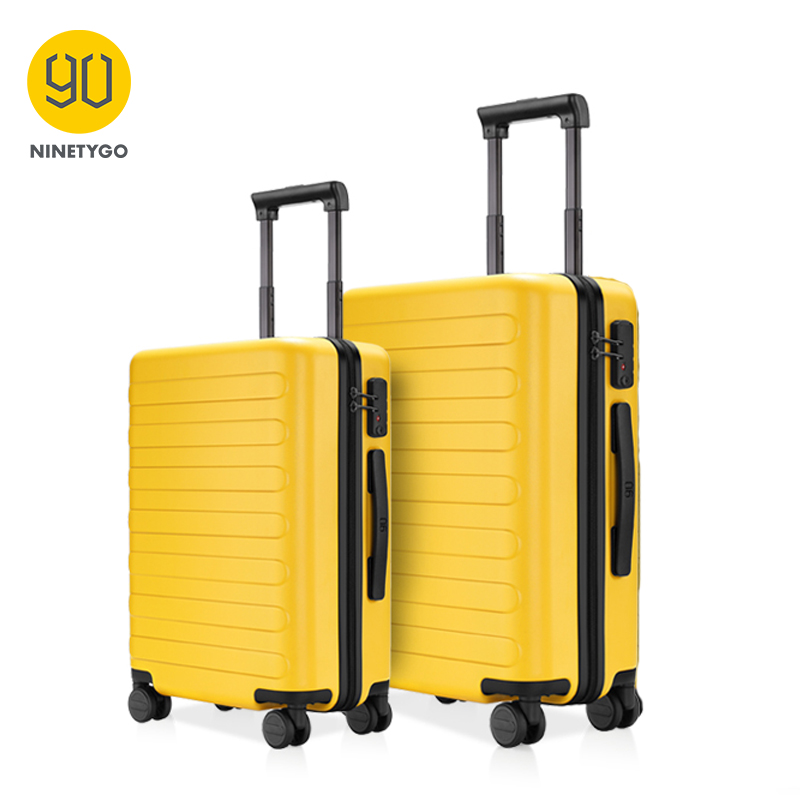 Suitcase Luggage Travel Ninetygo 90fun Spinner Hardshell Lightweight Carry Business 20-24inch-Set