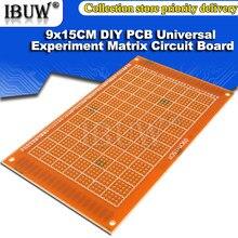 Circuit imprimé universel pour circuit imprimé, 2 pièces, 9x15cm, 9x15cm, simple face