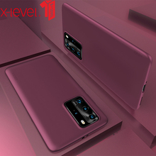X-Level Soft TPU Case For Huawei P40 Pro Super Light Ultra Thin Micro Matte Back Phone Cover For Huawei P40 Lite Case for cover huawei p40 case huawei p40 coque protective stylish smooth skin pc matte ultra thin phone case for huawei p40 cover