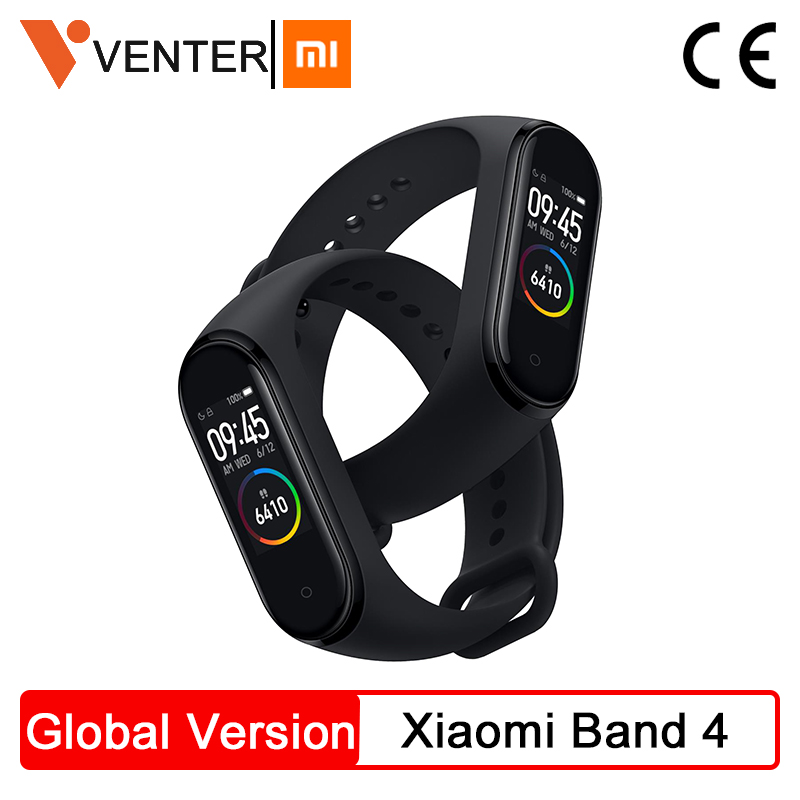 2019 Global Version Xiaomi Mi Band 4 Smart Miband 4 Bracelet Heart Rate 135mAh Color Screen AI Fitness Tracker