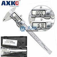 """6 """"/ 0-150mm LCD Screen Smooth-gliding Durable Stainless Steel Digital Caliper Electronic Measuring Tool LT239"""