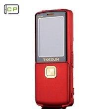 TKEXUN 8800i флип-телефон MP3 MP4 двойной фонарик Вибрация Две сим-камеры волшебный голос 2,4 дюймов роскошный кнопочный мобильный телефон