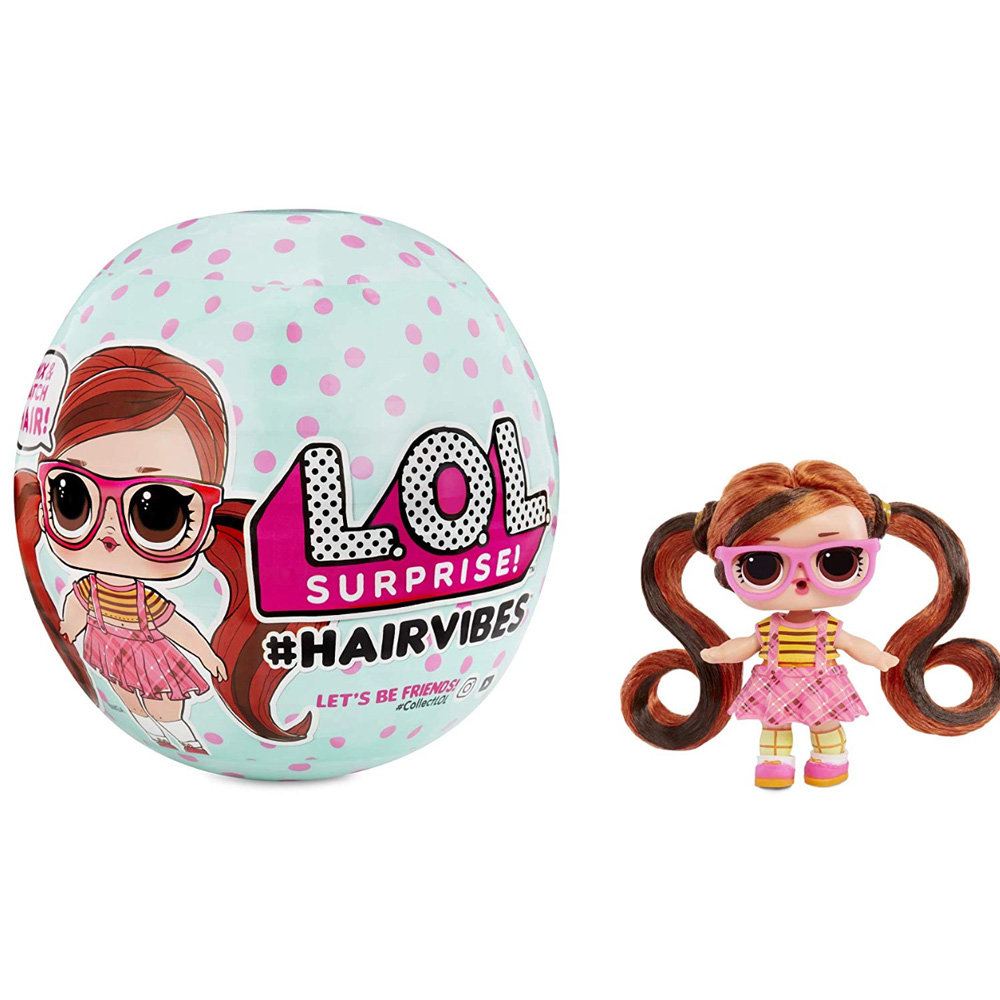 Original Lol Surprise Beautiful Hair Doll DIY Manual Blind Box Fashion Model Doll Girl Toy Kid Gift
