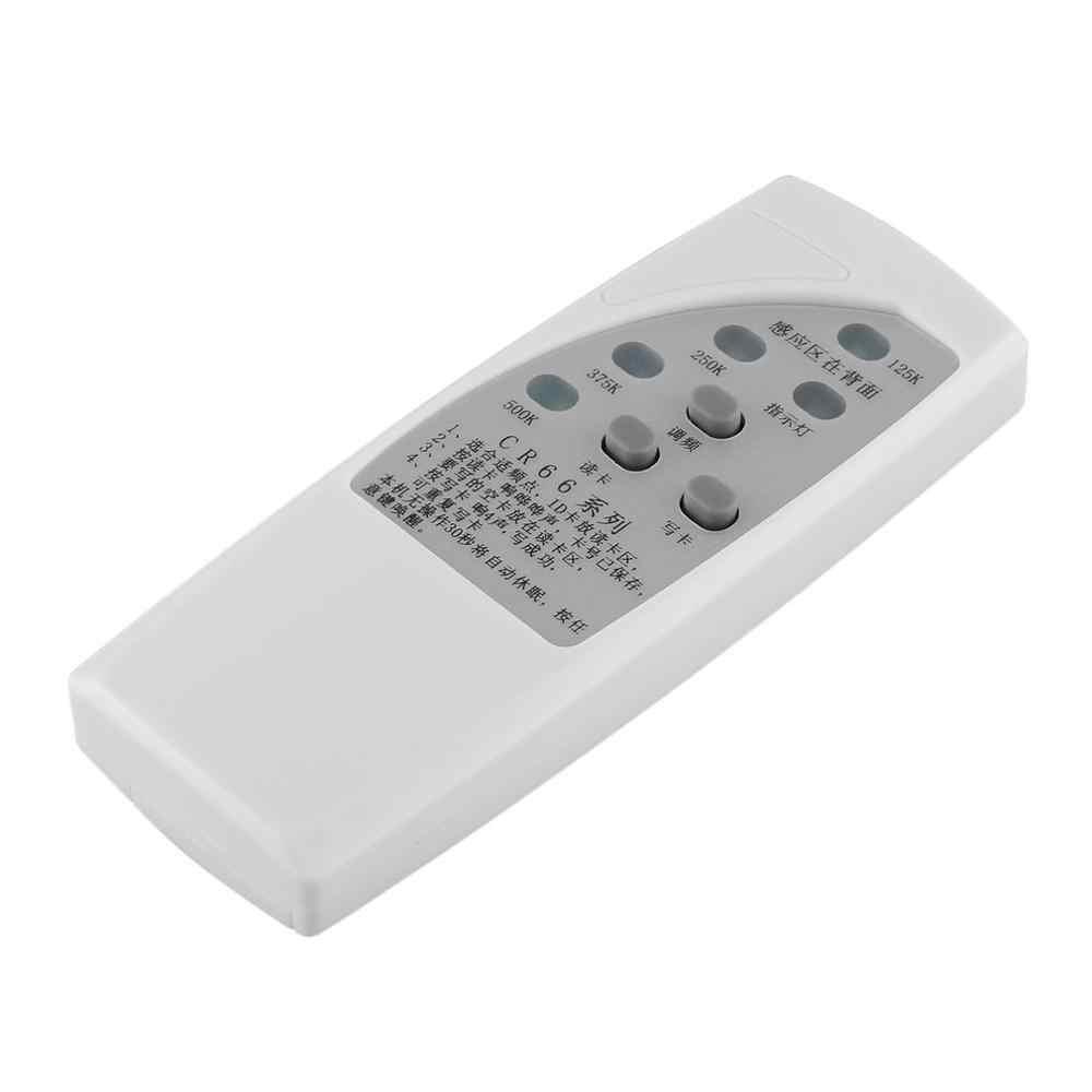 CR66 el RFID kimlik kartı teksir programcı okuyucu yazar 3 düğmeler fotokopi teksir ile gösterge ışığı kapı anahtarı yazar