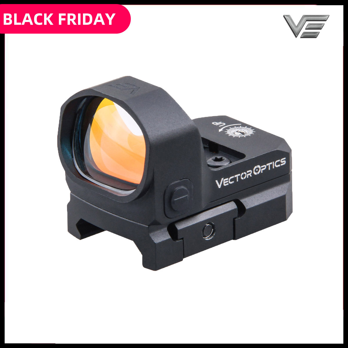 Vector Optics Frenzy 1x20x28 Big Window Size Tactical Red Dot Sight 3 MOA IPX6 Water Proof fit for Pistol 9mm Glock AR .223 .308 image