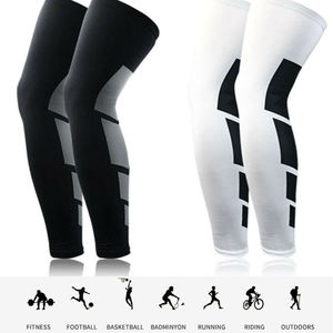 Sports Knee Protectors Leg Sleeve Fitness Ankle Compression Socks Knee High Support Stockings Leg Thigh Sleeve For Men Women 3FS