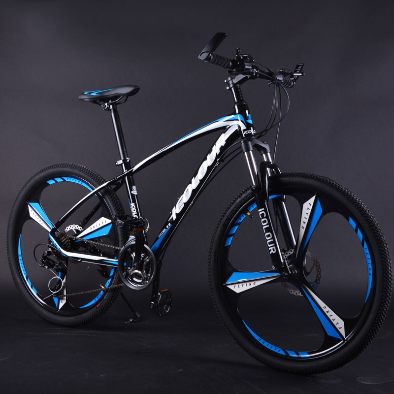 Mountain Bike Aluminum Alloy 26 Inch 3 Knife Wheel Variable Speed Shock Double Disc Brakes Men And Women Bicycle