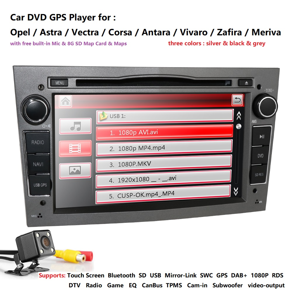 Autoradio 2 Din voiture DVD GPS Navigation pour Opel Astra H G J Antara vectra c b Vivaro astra H corsa c d zafira b unité multimédia