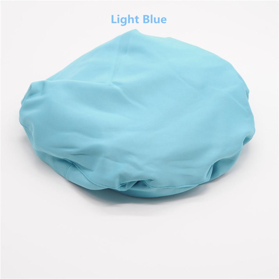 Стоматология клиника 4 цвета крышка стула протектор блок Крышка эластичный хлопок моющийся для стоматолога лаборатории - Цвет: 1Set Light Blue