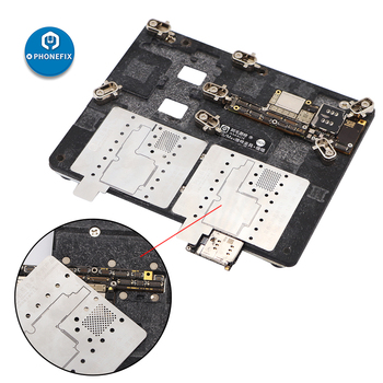 AMAO 2 IN 1 Middle Layer Stencil Template For IPhone Repair Motherboard Fixture For IPhone X XS MAX Motherboard Fixture