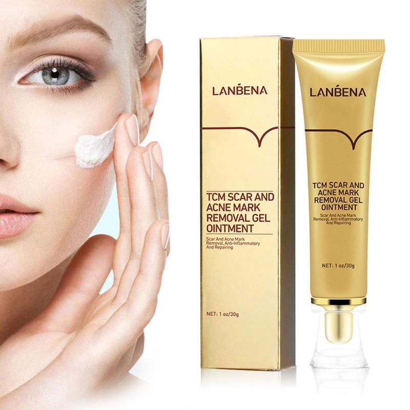 30 г шрам удалить крем Для женщин шрам и для Удаления растяжек гель мазь (LanBeNa) уменьшение постугревых рубцов лечение крем против TSLM2