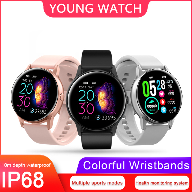 Sports Smartwatch with Health Monitor