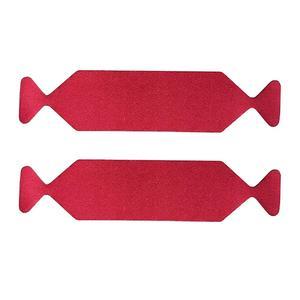 Image 2 - 10PCS Car Wrap Vinyl Suede Felt Cloth Film Edge Fabric For Card Squeegee Scraper Car Tools No Scratch Protector D26
