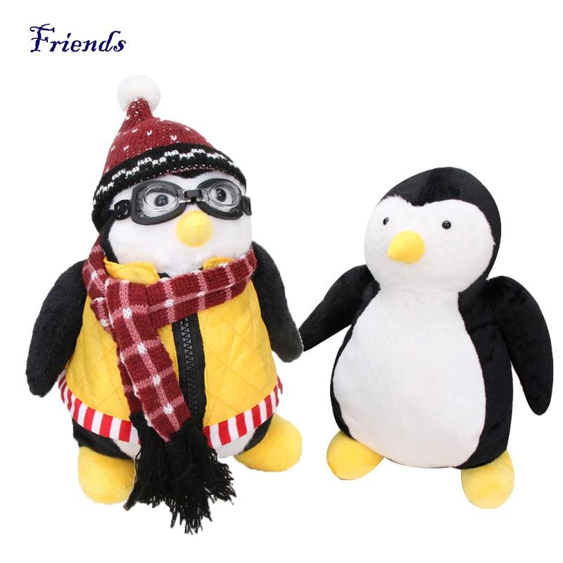 """Cute TV Series Friends Joey/'s Friend HUGSY Plush PENGUIN Rachel Stuffed Doll 18/"""""""