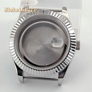 Image 3 - Parnis 41mm Sapphire Silver นาฬิกา Fit ETA 2836, miyota 8205 8215 82 Series Mingzhu DG2813 3804 การเคลื่อนไหว