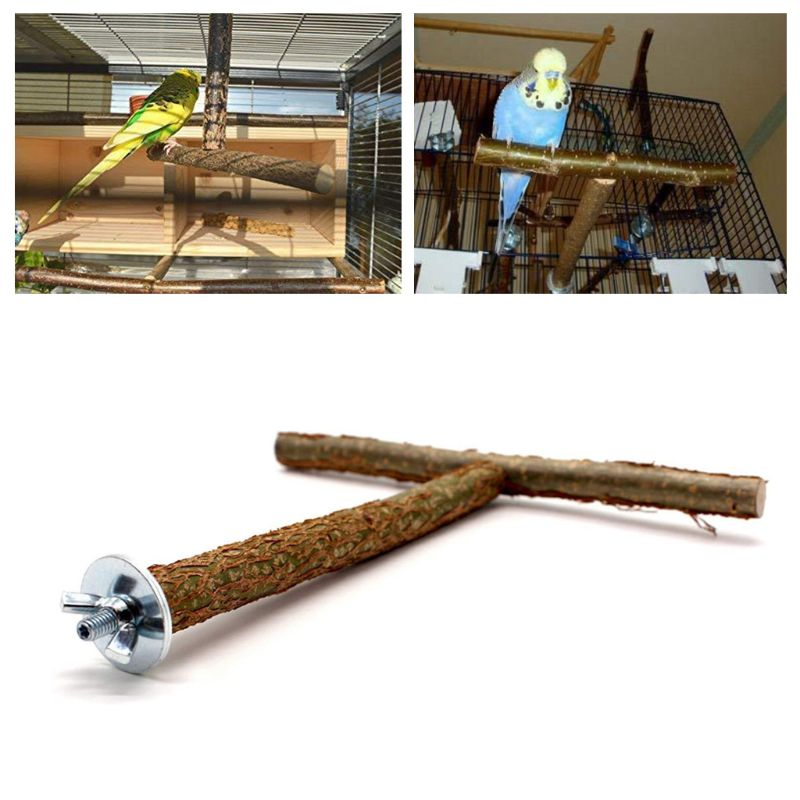 Bird Parrots Stand Bar Toy Parrot Bite Chew Toys Swing font b Pet b font Rest
