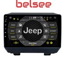 Belsee Android 9,0 PX6 4G + 64G de la unidad de Radio estéreo para Jeep Wrangler 2018 2019 reproductor Multimedia CarPlay de navegación GPS