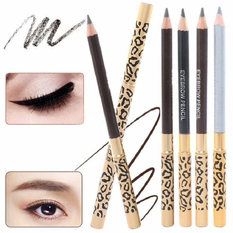 5 Colors Double-End Eyebrow Pencil Waterproof Lasting No Blooming Eye Brow Tatoo Pen Smudge-proof Easy To Wear Makeup TSLM2