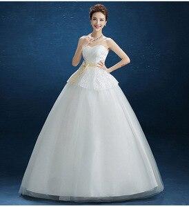 Image 2 - Robe de mariée, sans bretelles, pas cher, Popodion, robe de mariée, photographie, WED90540