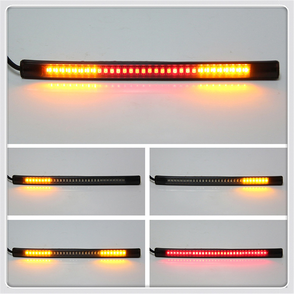 Motorcycle light with tail brake stop turn signal LED red amber for HONDA CBR250R VFR 1200 F ST 1300 Black SpiRit NC750 S X