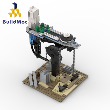 BuildMOC Creator Tensegrity Sculptures Suspended Gravity Building Blocks Dynamic Physics Balance Novel Bricks Toys Kids Child