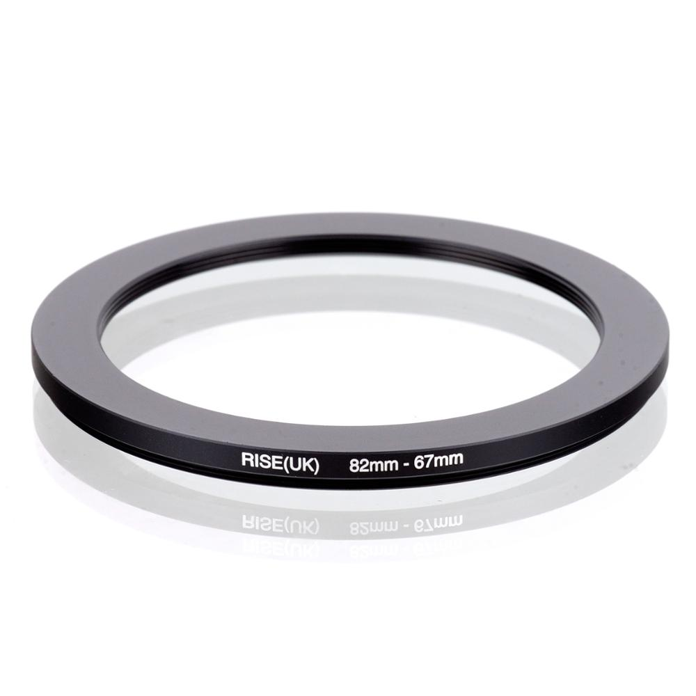 RISE(UK) 82mm-67mm 82-67 Mm 82 To 67 Step Down Filter Ring Adapter