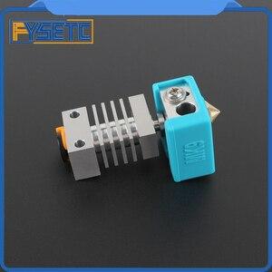 Image 5 - Cr10 dissipador de calor todo o metal hotend kit atualização para CR 10 Ender 3 impressoras micro suíço cr10 hotend titânio disjuntor garganta