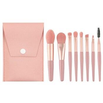 8 Pieces Mini Travel Soft Make-up Brushes Set