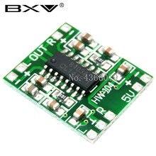 100PCS PAM8403 슈퍼 미니 디지털 앰프 보드 2*3W 클래스 D 디지털 앰프 보드 효율적인 2.5 ~ 5V USB 전원 공급 장치