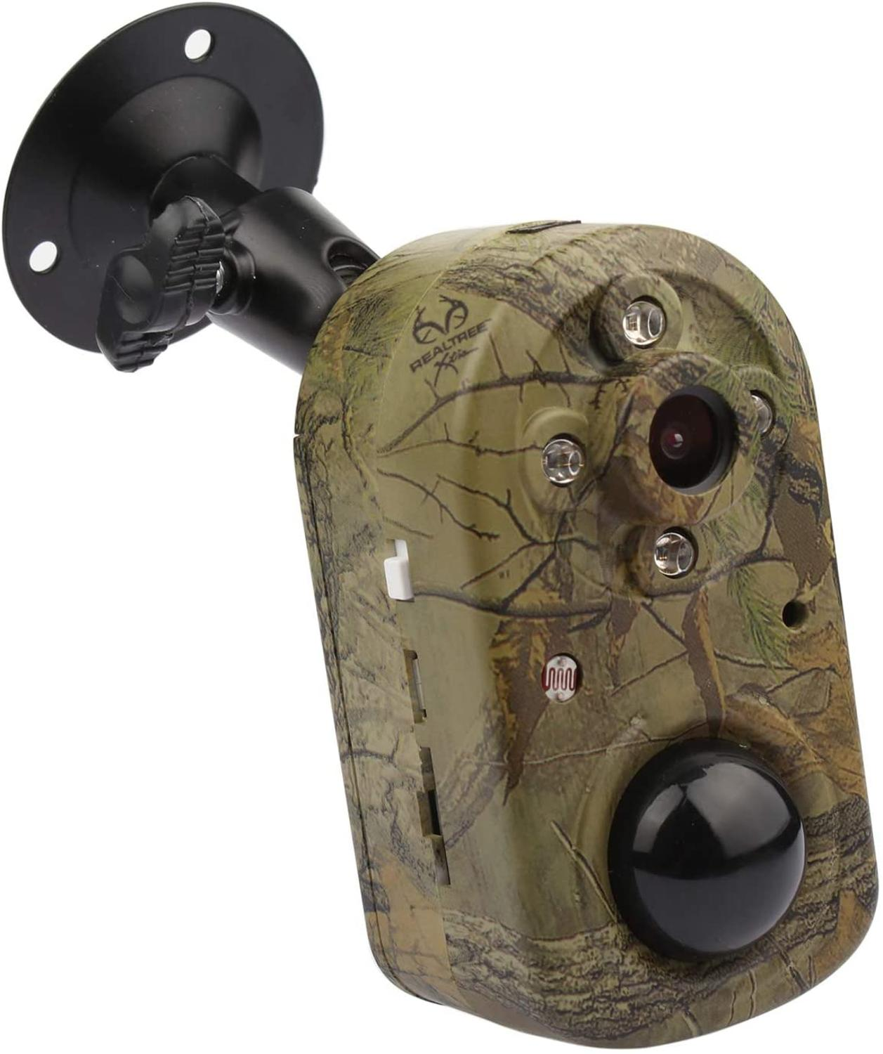 Security Camera,Camouflage 1080P HD PIR Motion Detection Home Security Camera System,Battery Powered Night Vision Standalone Cam