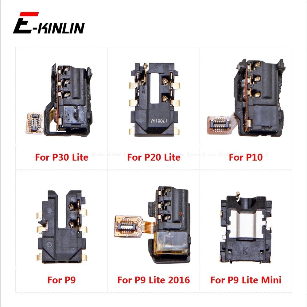 Ear Earphone Port Connector Headphone Jack Audio Flex For HuaWei P30 P20 P10 P9 Lite Mini 2016 Repair Parts