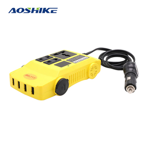 AOSHIKE 240W Inverter 12 V 24 V to 220 V 110 V Voltage Transformer Converter Power Inverter with 4 USB 5V 2.1A New Arrival
