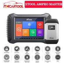 XTOOL – A80 pro Master(H6Pro Master) Scanner de voiture, outil de Diagnostic automobile, programmation ECU, OBD2, PK MK908P IM608