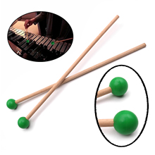 Percussion-Sticks Xylophone Marimba Mallets Parts-Light Pair of for Soft