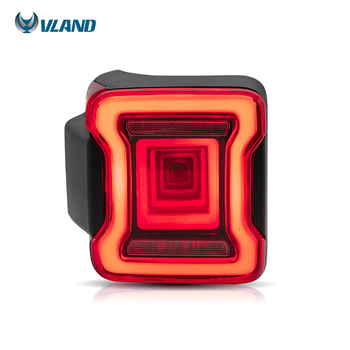 VLAND factory for car tail light for Jeep Wrangler 2018 2019 2020 full led Taillight with moving signal
