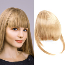 AIYEE 6 Inch Clip On Short Straight Front Fake