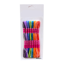 8Pcs Multicolor Multifunction Floss Kit Needle Craft Embroidery Thread Similar T