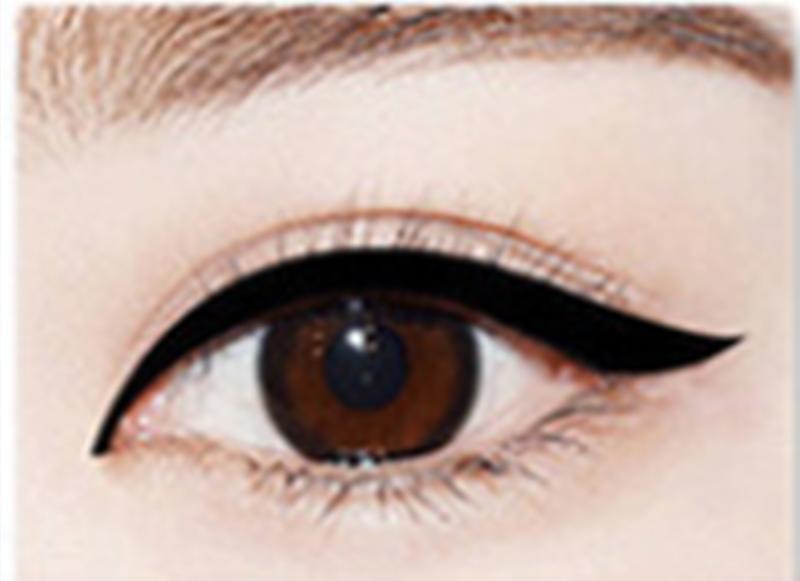 Yeni Sıcak Siyah Kahverengi Ince Uzun Ömürlü Sıvı Eyeliner Su Kalem Su Geçirmez Çabuk kuruyan Kadınlar Makyaj Araçları
