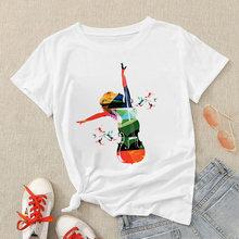 Модная футболка рубашки для мальчиков дамы ropa tumblr Женская
