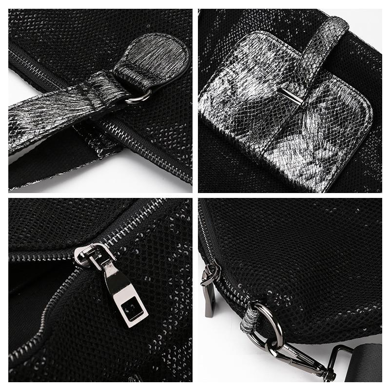 Große Kapazität Leder Taschen für Frauen Reise Messenger Taschen Große Tote Handtasche Reisetasche - 6