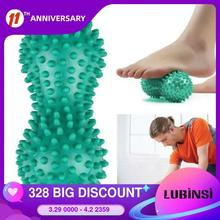 Spiky-Ball Foot-Massage-Roller Myofascial-Balls Peanut for Plantar Fasciitis-Mobility-Back